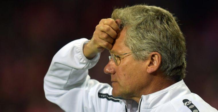 Bölöni laat Antwerp-speler in de kou: Geen speelminuten, dat wringt