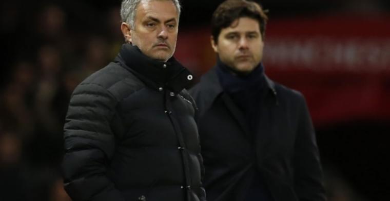 Pochettino haalt uit naar 'knuffelende' Mourinho: Zoiets doe je niet