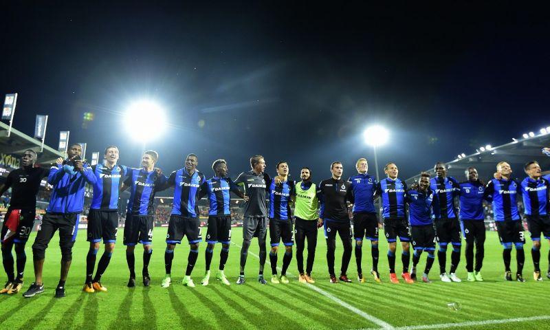 Afbeelding: Club Brugge is kampioen van jaar 2017, Kortrijk als rode lantaarn