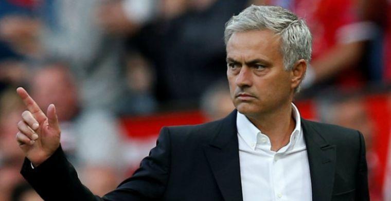 'United-selectie niet blij: relatie tussen spelers en Mourinho staat onder druk'