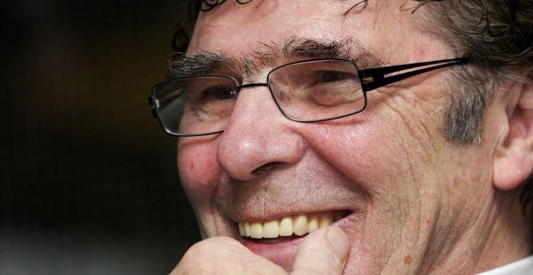 Van Hanegem baalt van Feyenoord: 'Die loopt nu dus bij Ajax, niet in de Kuip'