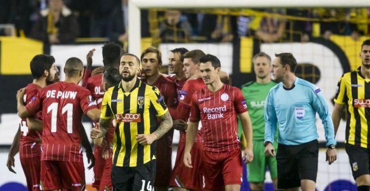 Europees avontuur van Vitesse lijkt voorbij na chaotische thuisnederlaag