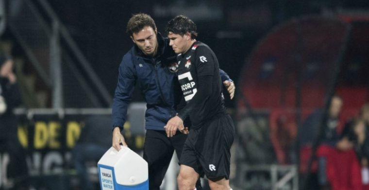 Update: Willem II-speler gaat onder het mes en is maandenlang niet inzetbaar