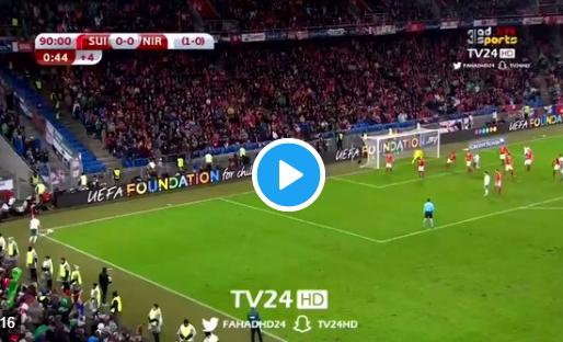 Held van Zwitserland: Rodriguez haalt bal van de lijn en regelt WK-ticket