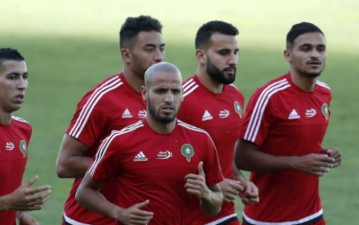 Afbeelding: Brusselse taferelen ook in Nederland: Marokkaanse fans maken het te bont