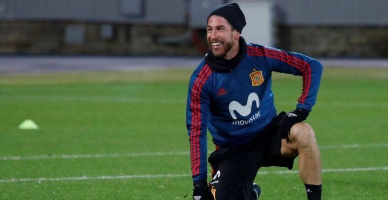 Sergio Ramos envia un mensaje al aficionado español y la mascota del Mundial