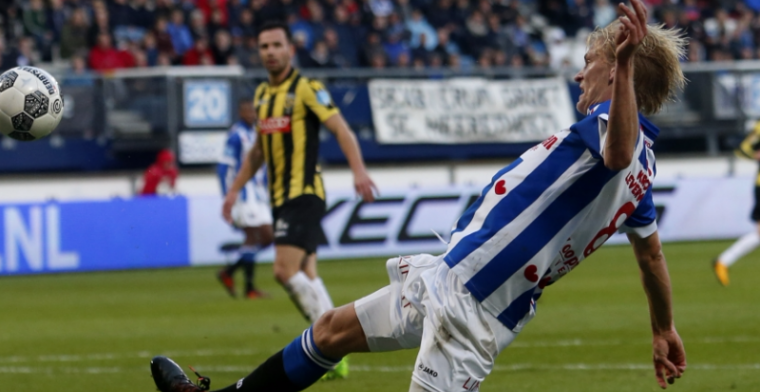 'Het is me gelukt om het verbod daarop uit mijn Heerenveen-contract te krijgen'