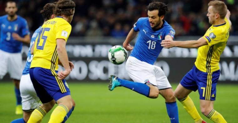 Drama voor Italië: ploeg ontbreekt voor het eerst sinds 1958 op een WK