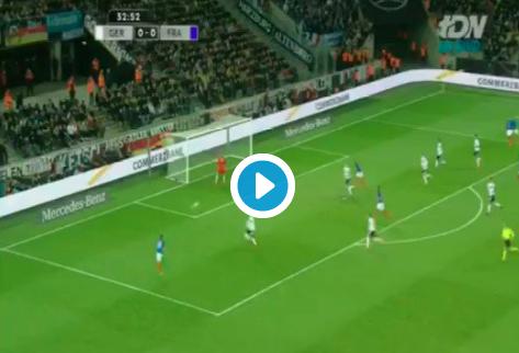 Magnifique: Frankrijk scoort na fantastische aanval tegen Duitsland