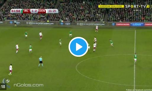 Onnavolgbare Eriksen schiet Denemarken naar WK met tweede goal