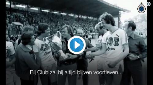 MOOI! Club Brugge eert overleden icoon met schitterend filmpje