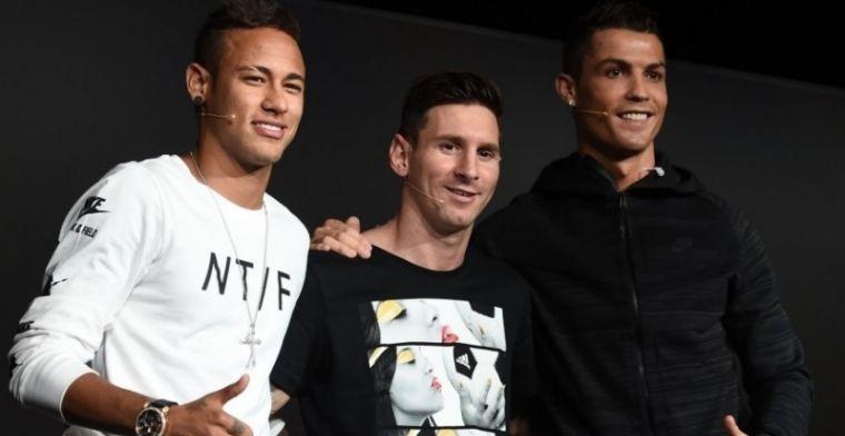 Después de Cristiano y Messi, el Balón de Oro será para Neymar