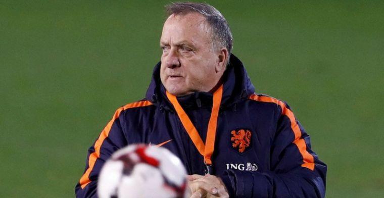Blind geïrriteerd op Oranje-training door Advocaat-zet: Vond hij niet zo leuk