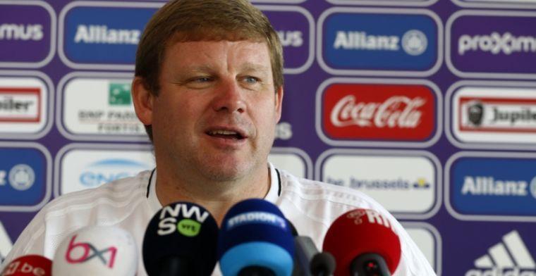 Vanhaezebrouck wikt en weegt: Als je bij Anderlecht speelt, weet je dat dat kan