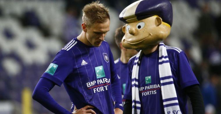 Vanhaezebrouck grijpt in: coach van Anderlecht zoekt oplossing voor Teodorczyk
