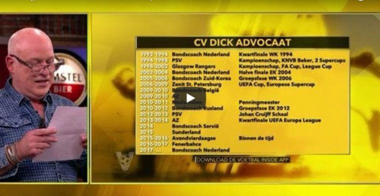 LOL! Hilariteit bij oplezen van CV ex-bondscoach: 'België: niks'