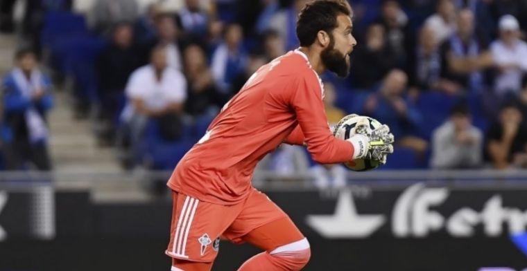El guardameta Sergio Álvarez sopesa abandonar el Celta de Vigo