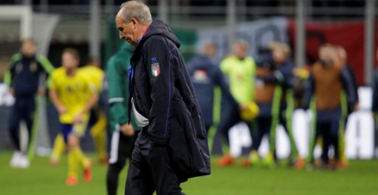 'Bondscoach Italië neemt verantwoordelijkheid en stapt op na historische blamage'