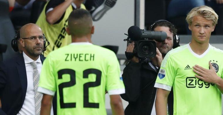 Bosz: 'Van Messi had ik dat geaccepteerd, maar van Ziyech niet'