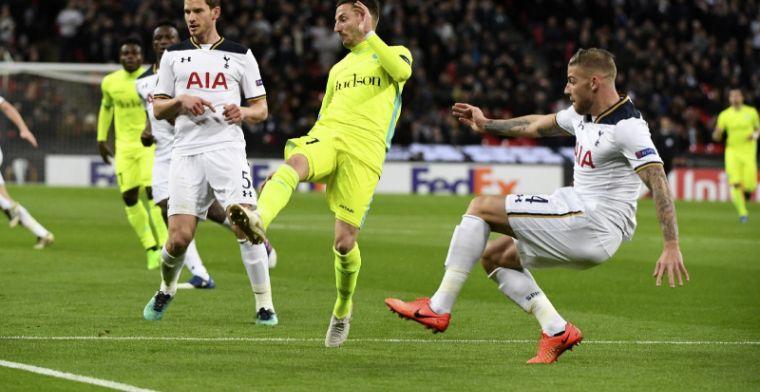 Slecht nieuws voor Tottenham: 'Rode Duivel uit tot na Kerstperiode'