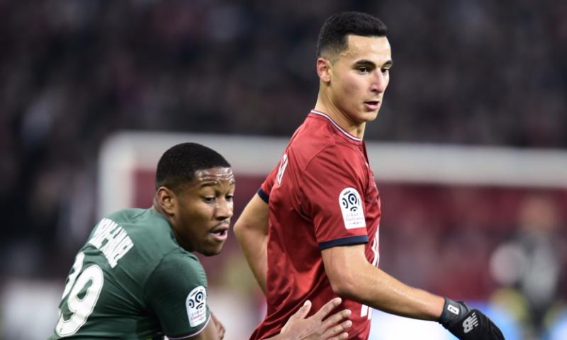 Afbeelding: El Ghazi laat zich zien bij Lille: Fransen weg uit Ligue 1-kelder
