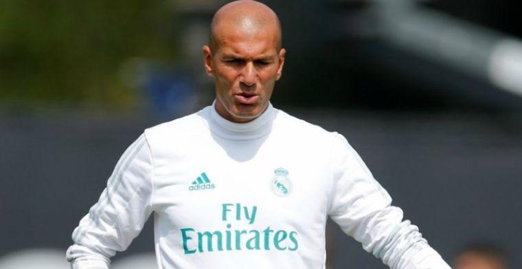 Zidane voedt geruchten over wereldtopper: Voor de toekomst, wie weet?