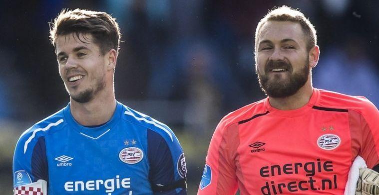 'Bij PSV is hij meer op zijn gemak dan bij Oranje, Jasper toont meer bravoure'