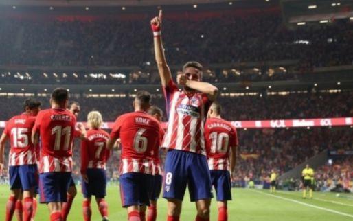 Imagen: OFICIAL. Simeone sale con todo para tumbar al Real Madrid