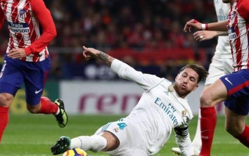Imagen: Sergio Ramos, sustituido al descanso con el tabique nasal roto