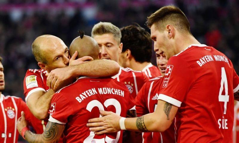 Afbeelding: Bayern München is los: ruime thuiszege en concurrenten winnen niet