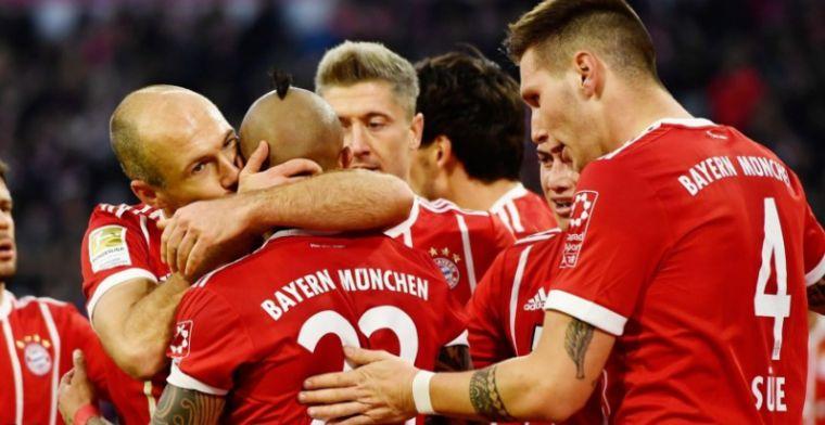 Bayern München is los: ruime thuiszege en concurrenten winnen niet
