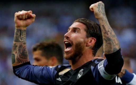 Imagen: El mensaje de Sergio Ramos tras fracturarse la nariz en el derbi