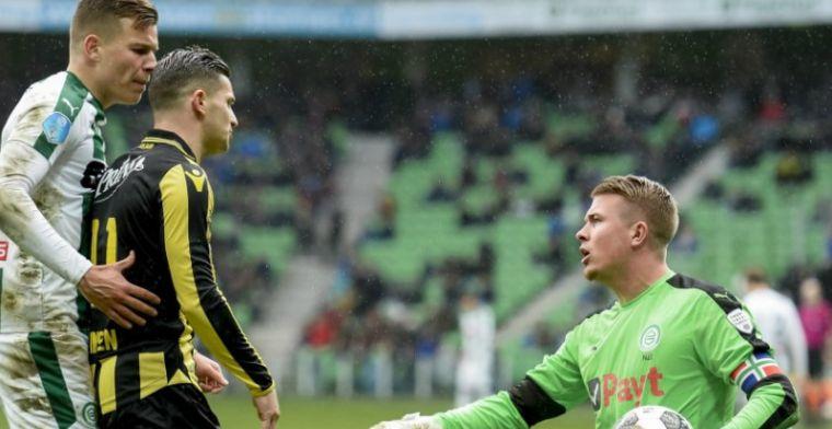 Bizarre comeback Groningen na 'eigen doelpunt van het jaar' Vitesse