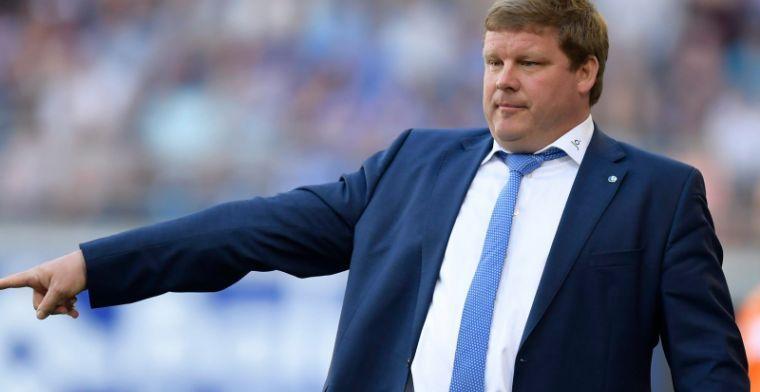 Vanhaezebrouck verdedigt zich: ''Mag niet alle nederlagen op mijn rug schuiven''