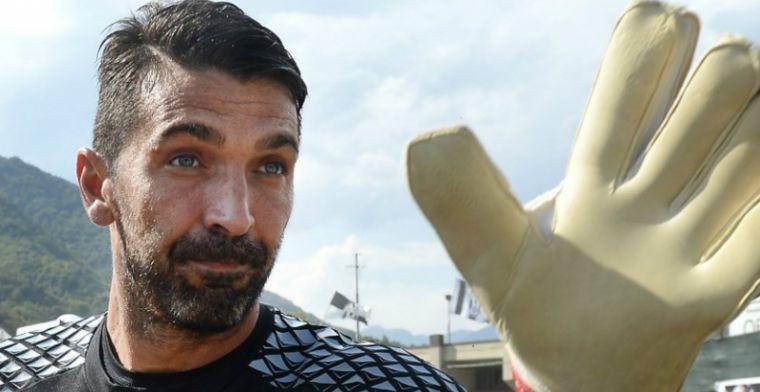 'Buffon mag mijn plek op het WK innemen. Ik zou hem oprecht die kans willen geven'