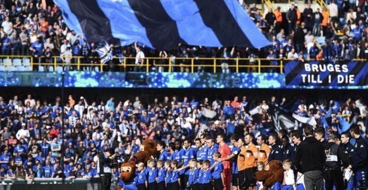 HAHA! Club Brugge dient AA Gent op subtiele wijze van repliek!