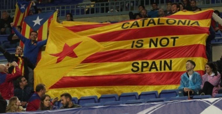 Waarschuwing voor 'pro-Catalaans' Barcelona: Dan kan Camp Nou gesloten worden