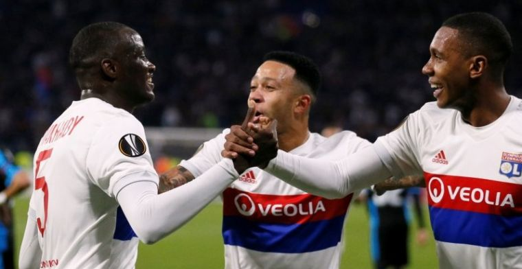 Everton keihard onderuit, Memphis geeft assist bij Lyon, AC Milan plaatst zich