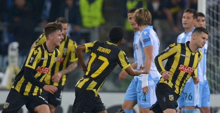 Vitesse definitief uitgeschakeld in Europa ondanks prima gelijkspel bij Lazio