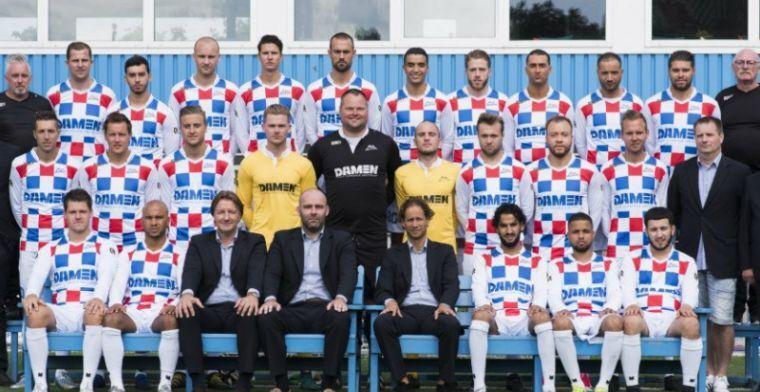 Afbeelding: Voltallig bestuur en vier spelers verlaten geplaagde 'tweede Amsterdamse profclub'