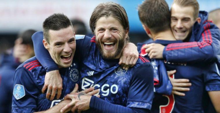 Ajax-routinier hoopt op basisplaats: 'Aardig gedaan de laatste weken'