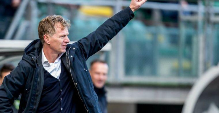 'Nederig blijven, maar mooi dat we in een rijtje met Feyenoord genoemd worden'