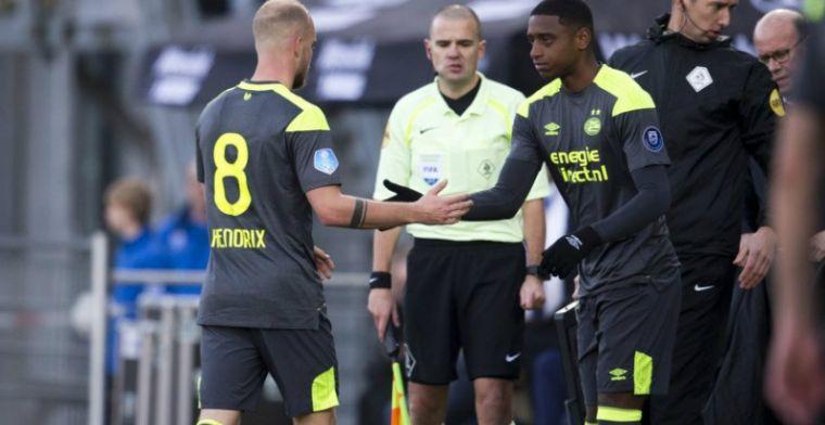 PSV-talent klopt op deur: 'Later in zijn carrière misschien wel linie naar achter'