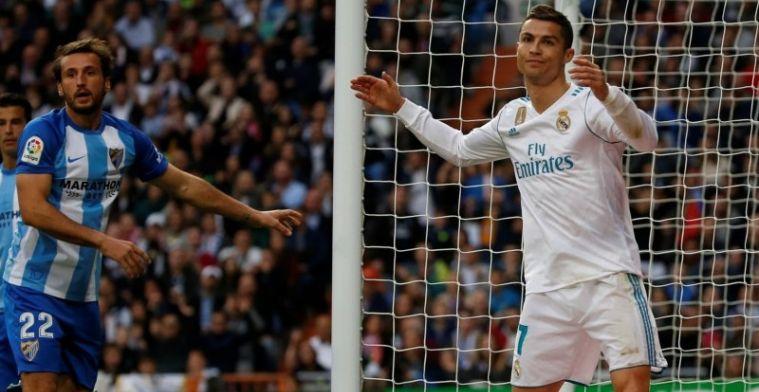 Ronaldo mist strafschop, maar is toch nog de held voor Real Madrid