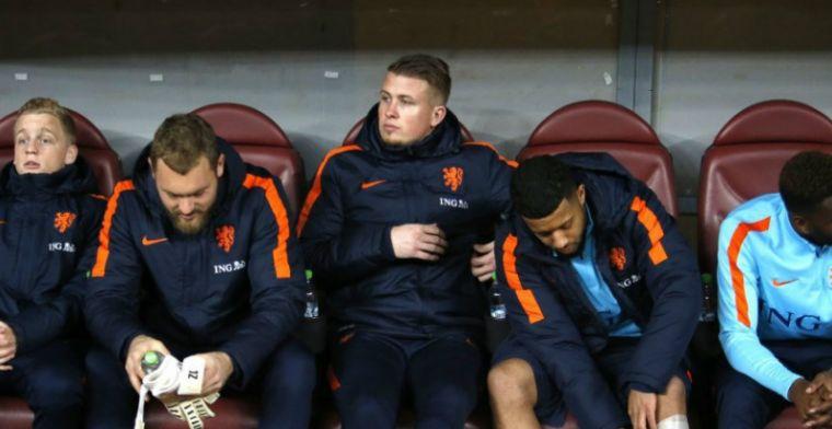Geen Oranje-debuut 'beetje teleurstellend': 'Omdat Advocaat zoiets in media zei'