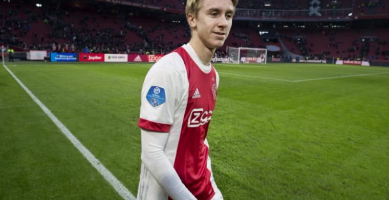'Mijn ultieme doel is om in de basis te staan van het eerste van Ajax'