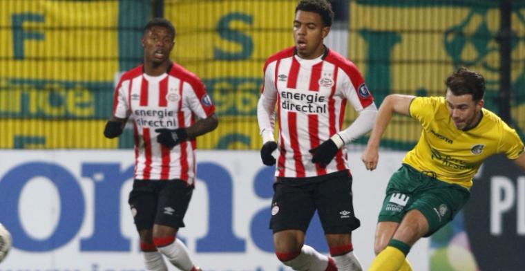 Jong PSV verliest van Fortuna na bizar slotstuk, hekkensluiter verliest weer