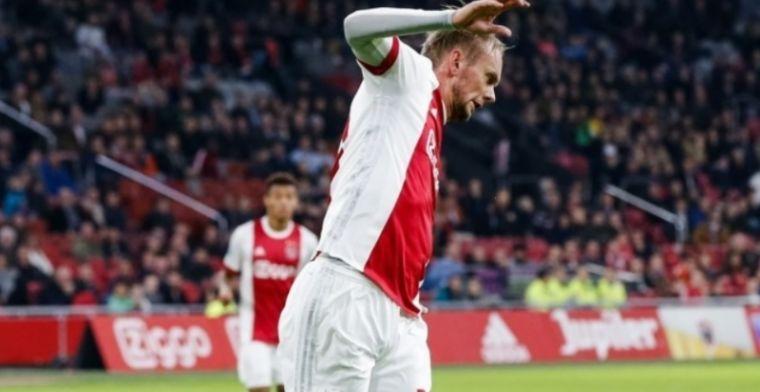Ajacied heeft geen haast na mislukt avontuur: 'Ik koester de Eredivisie'