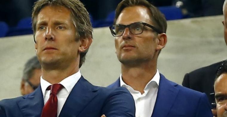 Van der Sar en De Boer over 'China-deal': 'Dan is Ajax een geweldig hulpmiddel'