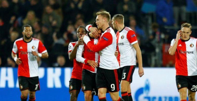 Feyenoord sluit Champions League-avontuur af met verdiende overwinning